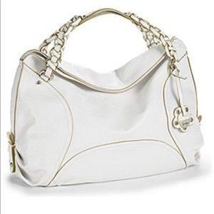 Jessica Simpson JS2103 large white Hyde satchel